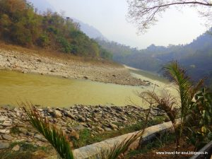 Rivers across the highway between Kathmandu and Pokhara