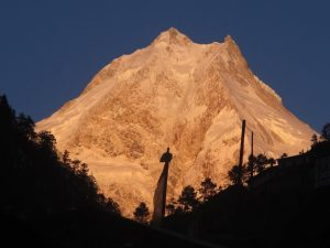 Golden Rays on the Everest