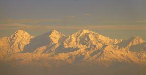 Golden Sight of Himalayas