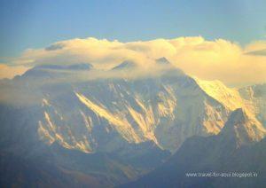 Sun Kissed Himalayan Range